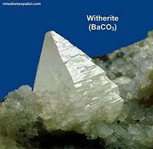 Baryta carbonica - image WITHERITE1 on http://rimediomeopatici.com