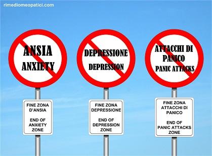 Ansia, Depressione, Attacchi di panico