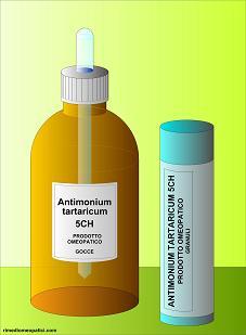Antimonium tartaricum - image ANTIMONIUM-TARTARICUM-gocce-granuli on https://rimediomeopatici.com