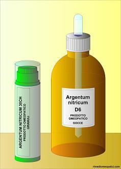Argentum nitricum - image ARGENTUM-NITRICUM-gocce-granuli1 on https://rimediomeopatici.com