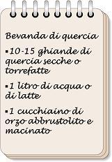 W i segreti della nonna - image Bevanda-di-quercia-6 on https://rimediomeopatici.com
