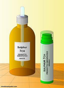 Sulphur - image SULPHUR-gocce-granuli_6.5 on https://rimediomeopatici.com