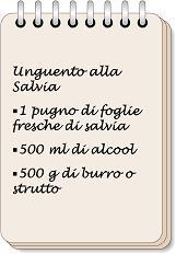 W i segreti della nonna - image Unguento-alla-Salvia-6 on https://rimediomeopatici.com